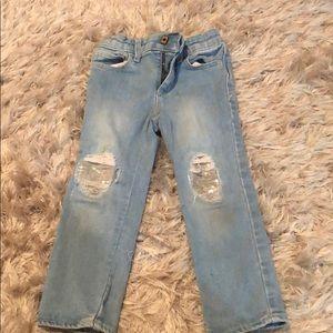 Gap 3 toddler jeans